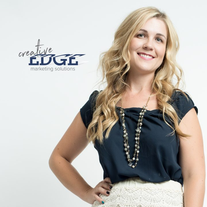 Lindsey Black, owner and marketing expert at Creative Edge Marketing Solutions