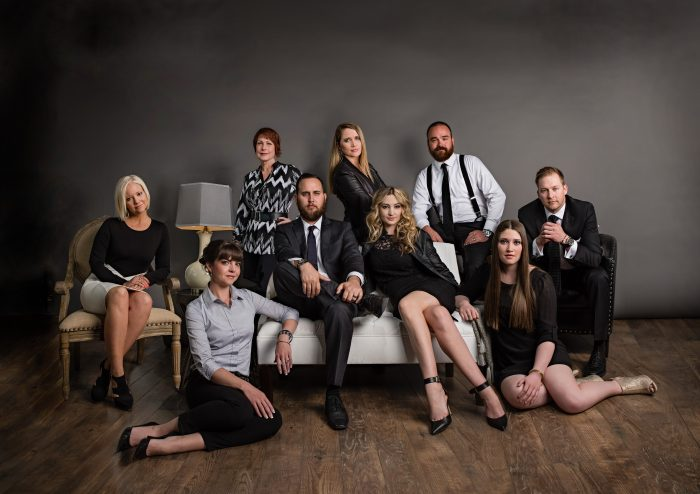 Corporate team photo by Salt Lake City photographer