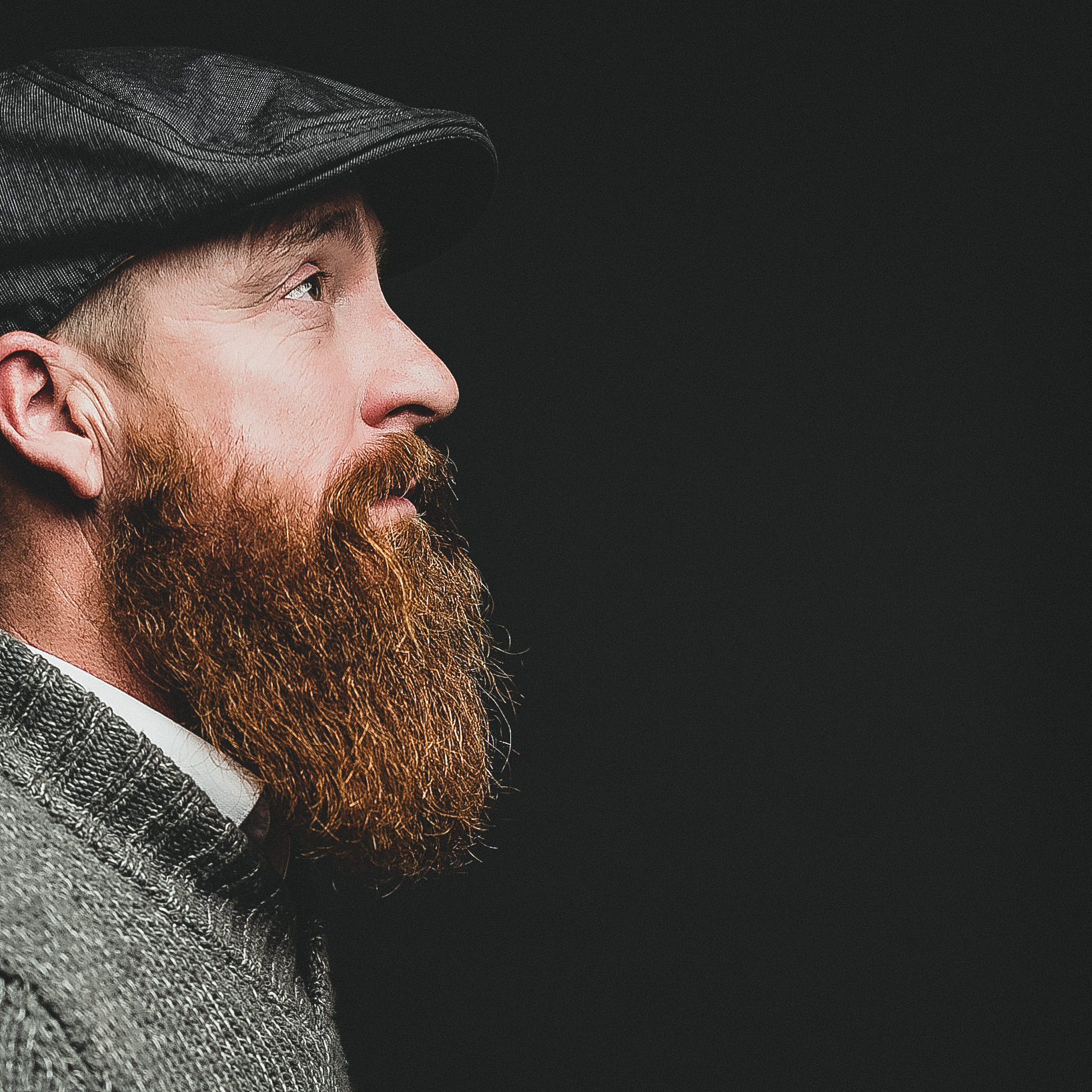 Man with a great beard business portrait by Salt Lake City photographer Purple Moss