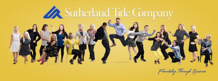 Title company team corporate photo by Purple Moss