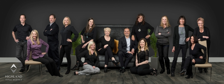 Corporate team photo captured by Utah photographer Purple Moss